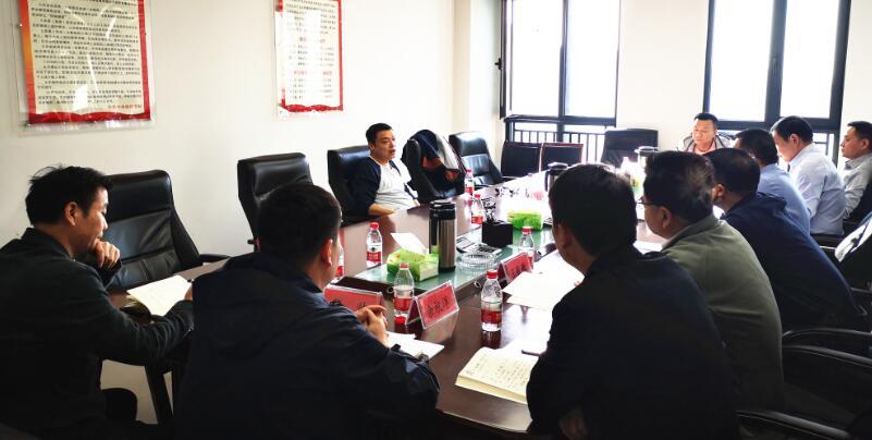 集团副总经理刘芮华到公司调研指导工作