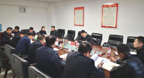 公司召开省委巡视整改暨以案促改专题民主生活会