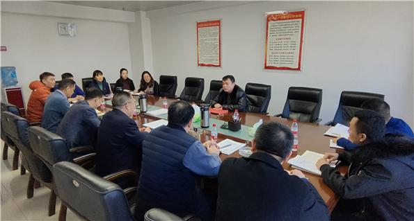 集团副总经理刘芮华到公司看望慰问广大干部职工